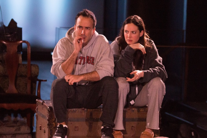 Alejandro Rodriguez as _Oscar Navarro_, Katie Wieland as _Bree Olson_ Photo courtesy of William Edward Marsh